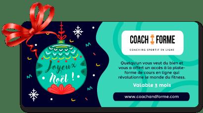 coupon offre Noël